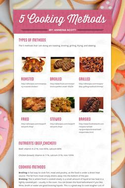 5 Cooking Methods