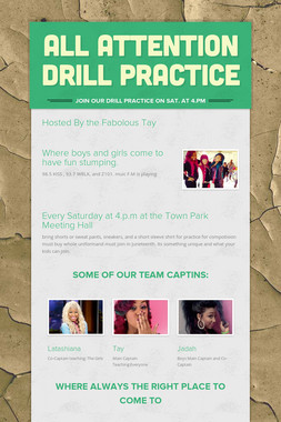 All Attention Drill Practice
