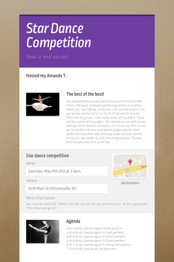 Star Dance Competition