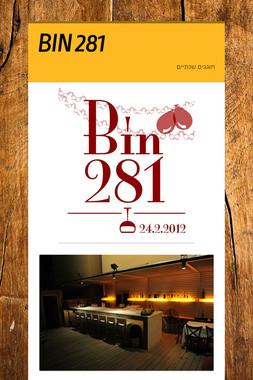 BIN 281