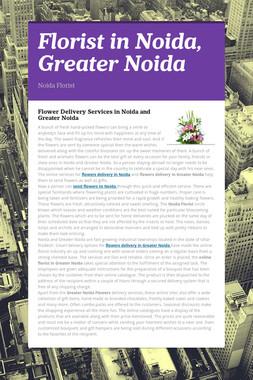 Florist in Noida, Greater Noida
