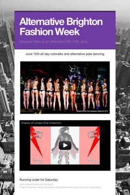 Alternative Brighton Fashion Week