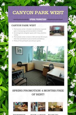 Canyon Park West