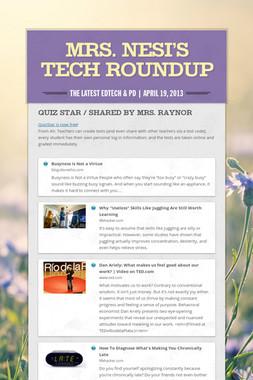 Mrs. Nesi's Tech Roundup