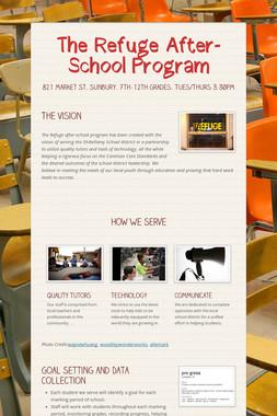 The Refuge After-School Program