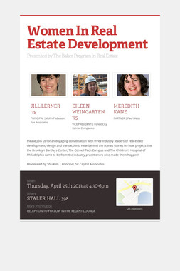 Women In Real Estate Development