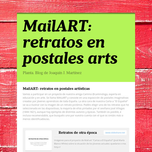 Thumbnail for MailART: retratos en postales arts