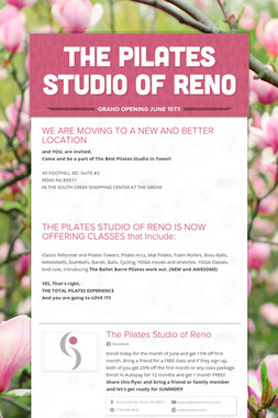 THE PILATES STUDIO OF RENO