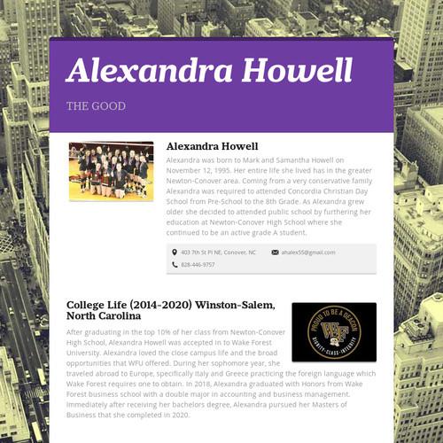 Alexandra Howell