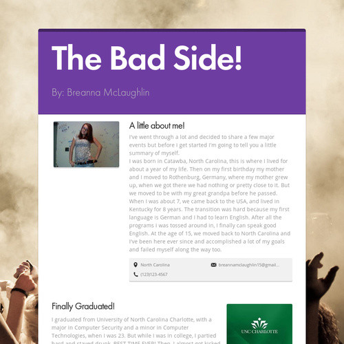 The Bad Side!
