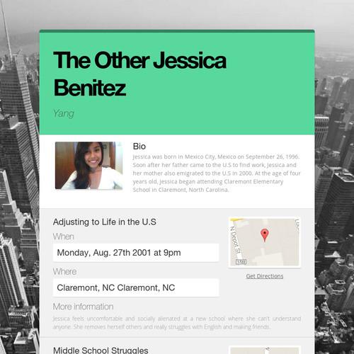 The Other Jessica Benitez