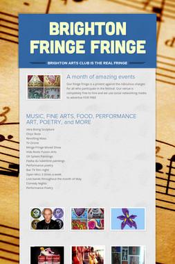 Brighton Fringe Fringe