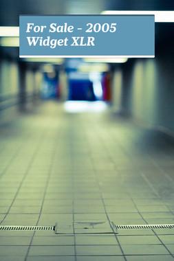 For Sale - 2005 Widget XLR