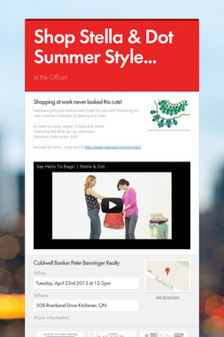 Shop Stella & Dot Summer Style...
