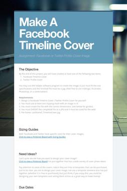 Make A Facebook Timeline Cover