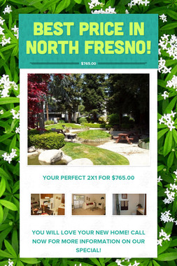 Best price in North Fresno!