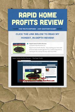 Rapid Home Profits Review