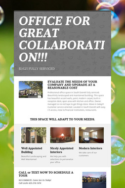 OFFICE FOR GREAT COLLABORATION!!!