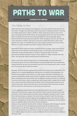 Paths to War
