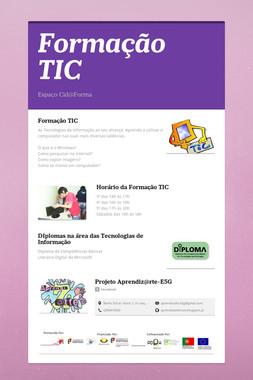 Formação TIC