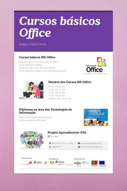 Cursos básicos Office