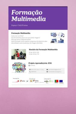 Formação Multimedia