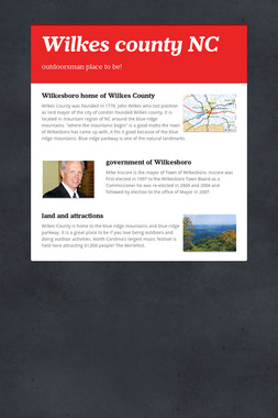 Wilkes county NC