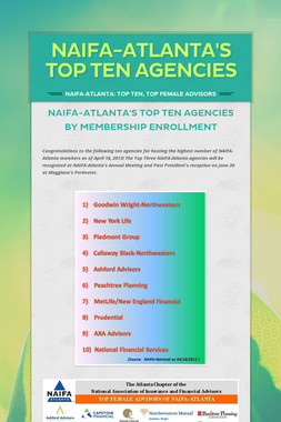 NAIFA-Atlanta's Top Ten Agencies