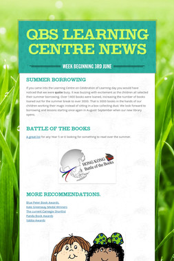 QBS Learning Centre News