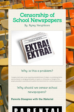 Censorship of School Newspapers