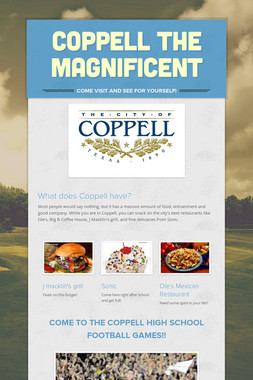 Coppell the Magnificent