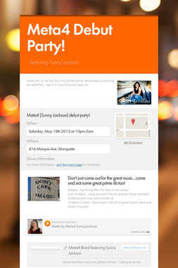 Meta4 Debut Party!