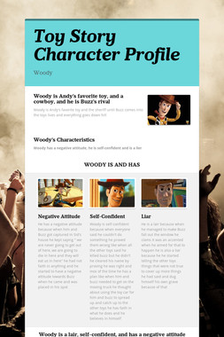 Toy Story Character Profile