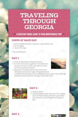 Traveling Through Georgia