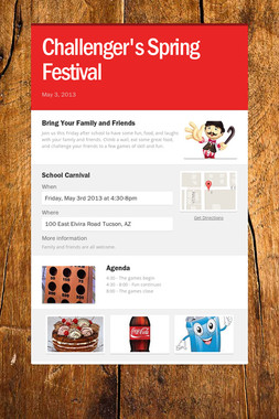 Challenger's Spring Festival