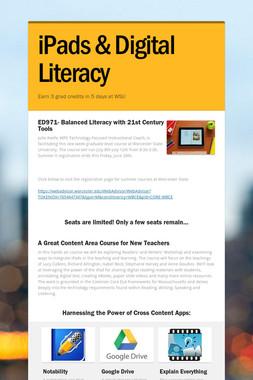 iPads & Digital Literacy