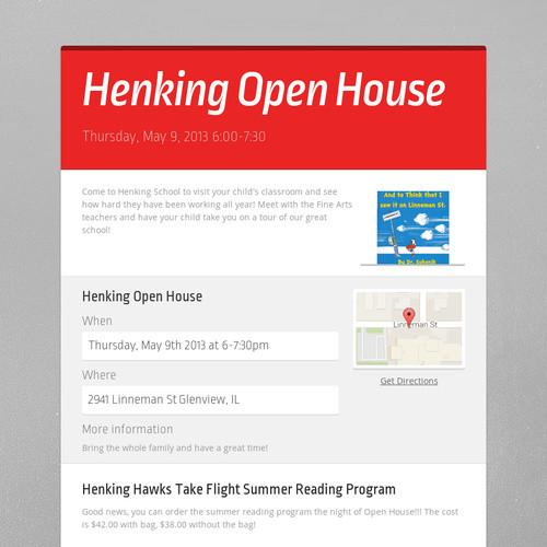 Henking Open House