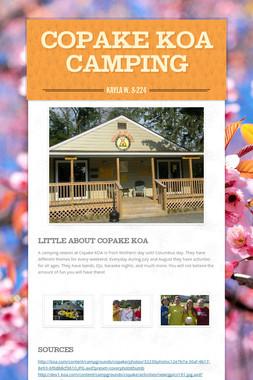 Copake KOA camping