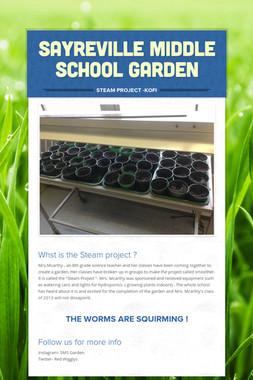 Sayreville Middle School Garden
