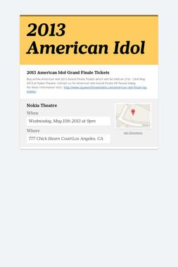 2013 American Idol