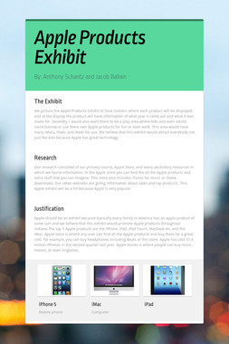 Apple Products Exhibit