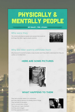 physically & mentally people