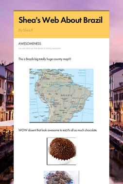 Shea's Web About Brazil