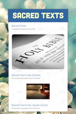 Sacred texts