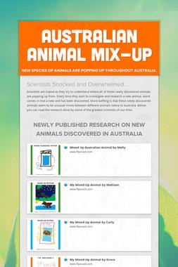 Australian Animal Mix-Up