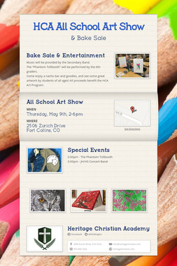 HCA All School Art Show