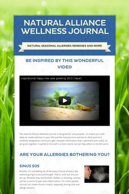 natural alliance wellness journal