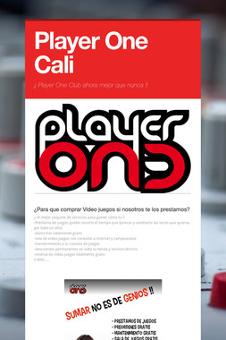 Player One Cali