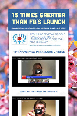 15 TIMES GREATER THAN FB's LAUNCH