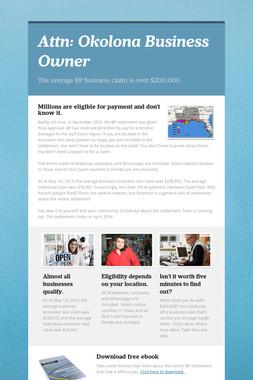 Attn: Okolona Business Owner